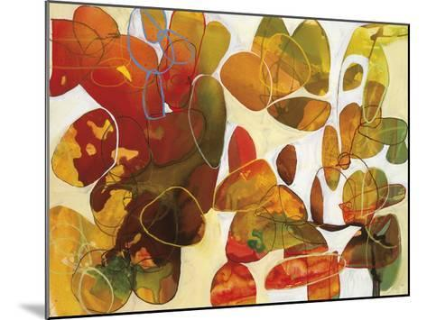Leaves of Fall-Liz Barber-Mounted Giclee Print