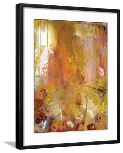 My Conversation With Me-Wendy McWilliams-Framed Art Print