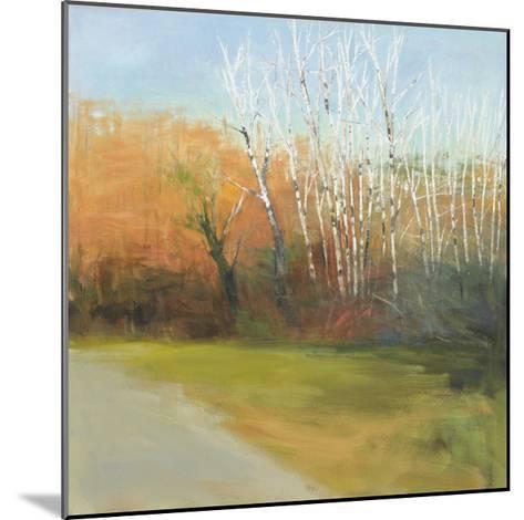Autumn Stroll-David Skinner-Mounted Giclee Print