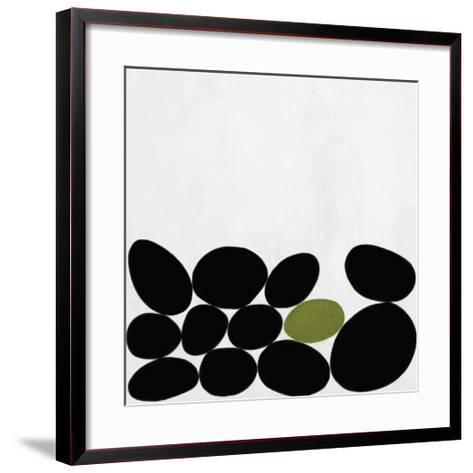 One Green Stone-Yuko Lau-Framed Art Print