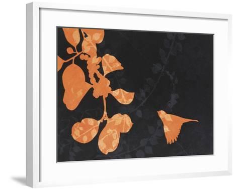 Spread By Birds-February Flanders-Framed Art Print