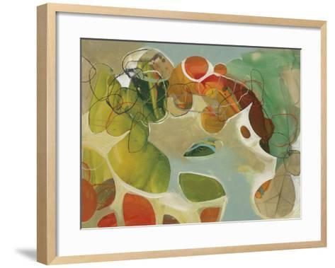 Spring Garden 2-Liz Barber-Framed Art Print