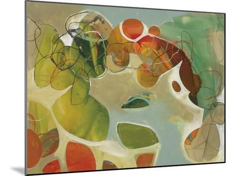 Spring Garden 2-Liz Barber-Mounted Giclee Print