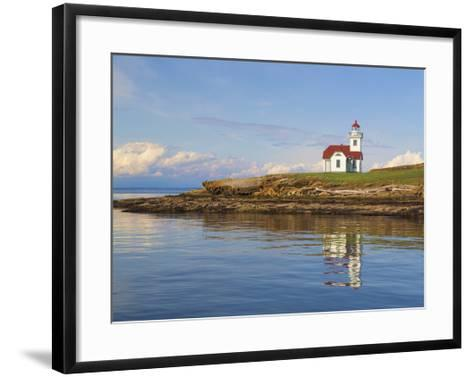 Patos Light House-Don Paulson-Framed Art Print