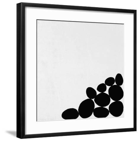 Stack on the Right-Yuko Lau-Framed Art Print