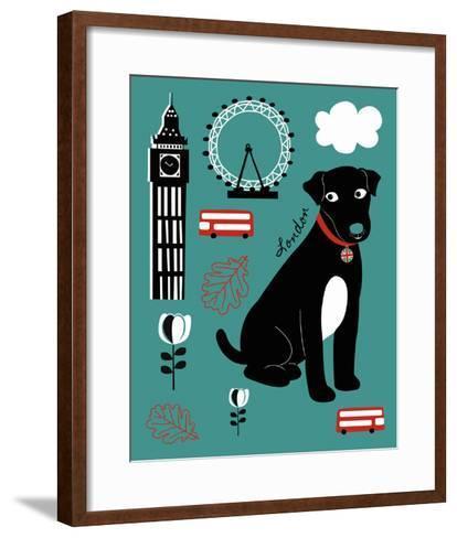 City Greetings II-Clara Wells-Framed Art Print