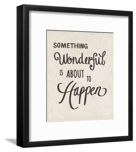 Something Wonderful-Clara Wells-Framed Art Print