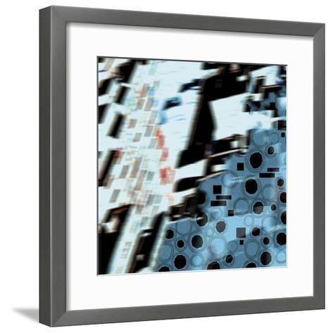 Neume I- Sukhanlee-Framed Art Print