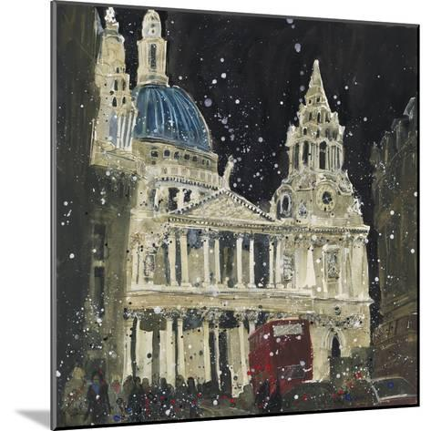 St. Paul's, Front Elevation, London-Susan Brown-Mounted Giclee Print
