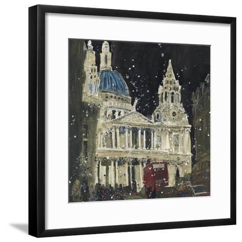 St. Paul's, Front Elevation, London-Susan Brown-Framed Art Print