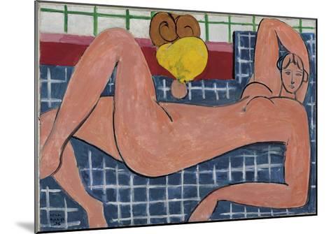 Nu Rose, 1935-Henri Matisse-Mounted Art Print