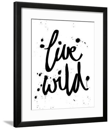 Live Wild-Sasha Blake-Framed Art Print