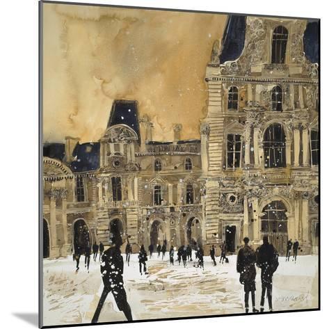 Louvre 5, Paris-Susan Brown-Mounted Giclee Print