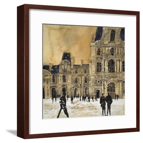 Louvre 5, Paris-Susan Brown-Framed Art Print