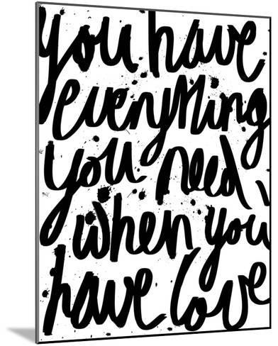 Love is Everything-Sasha Blake-Mounted Giclee Print