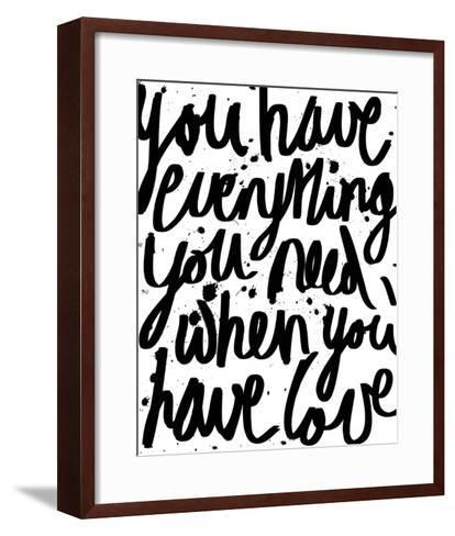 Love is Everything-Sasha Blake-Framed Art Print