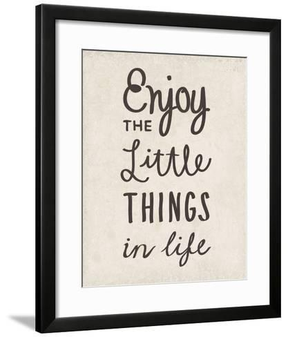 The Little Things-Clara Wells-Framed Art Print