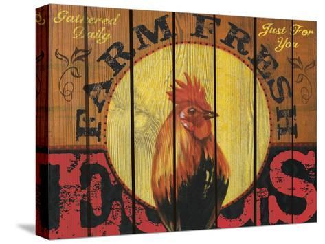 Rooster Time-Melody Hogan-Stretched Canvas Print