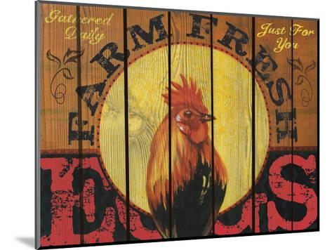 Rooster Time-Melody Hogan-Mounted Art Print