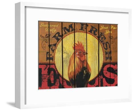 Rooster Time-Melody Hogan-Framed Art Print