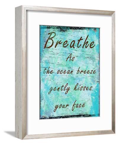 Ocean Kisses-Sheldon Lewis-Framed Art Print