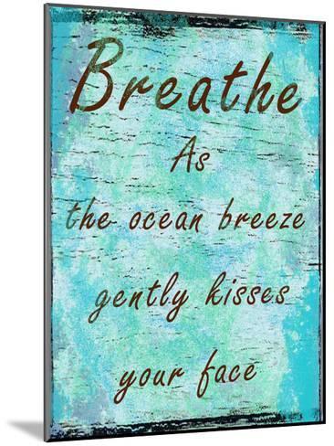 Ocean Kisses-Sheldon Lewis-Mounted Art Print