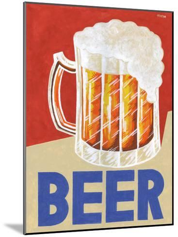 Retro Beer-Thom Reaves-Mounted Art Print