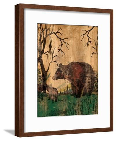 Mama Bear-Elizabeth Jordan-Framed Art Print