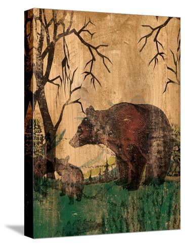 Mama Bear-Elizabeth Jordan-Stretched Canvas Print