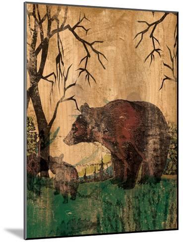 Mama Bear-Elizabeth Jordan-Mounted Art Print