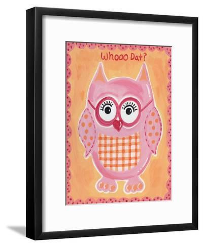 Whooo Dat-Tammy Hassett-Framed Art Print