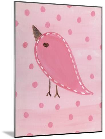 Heart Chick 3-Tammy Hassett-Mounted Art Print