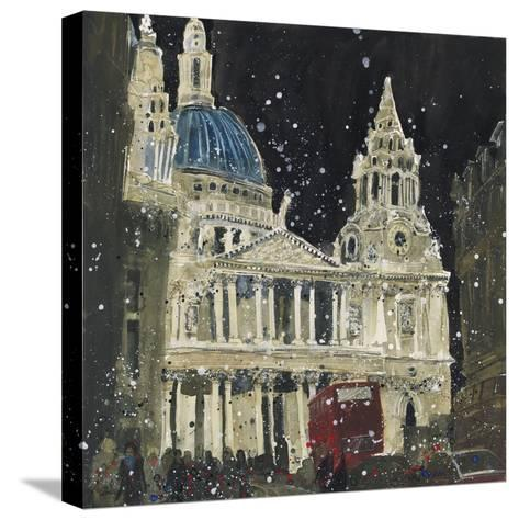 St. Paul's, Front Elevation, London-Susan Brown-Stretched Canvas Print