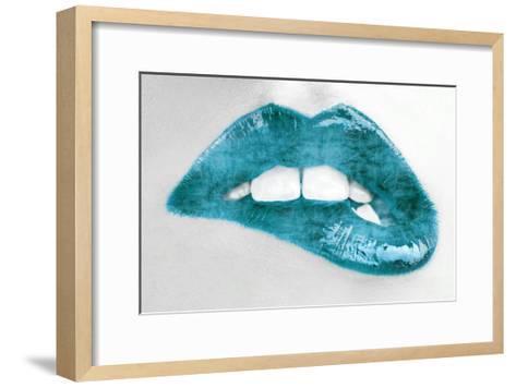 Luscious Teal-Sarah Mcguire-Framed Art Print