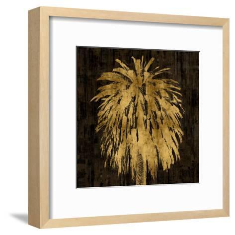 Palms In Gold I-Kate Bennett-Framed Art Print