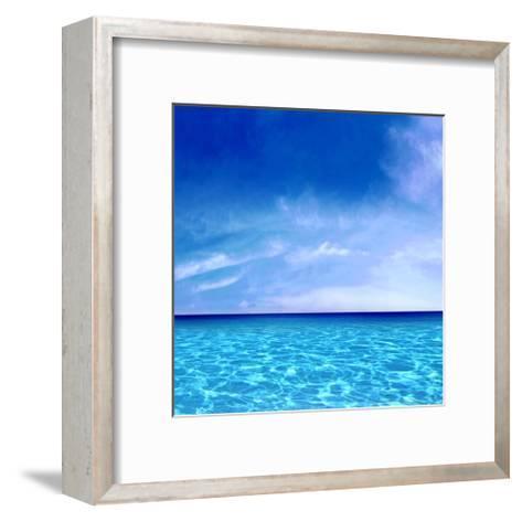 Sky and Water-Charlie Carter-Framed Art Print