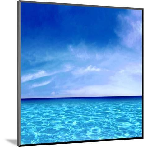 Sky and Water-Charlie Carter-Mounted Giclee Print