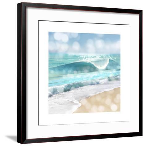 Ocean Reflections I-Kate Carrigan-Framed Art Print
