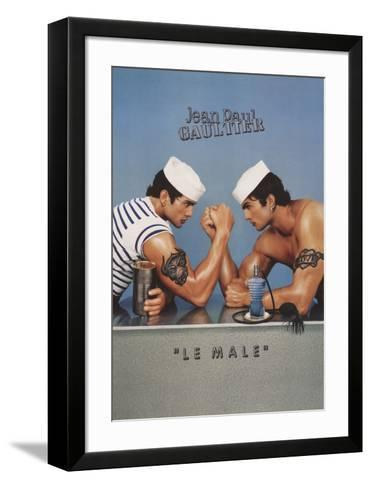Le Male-Pierre & Gille Commoy & Blanchard-Framed Art Print