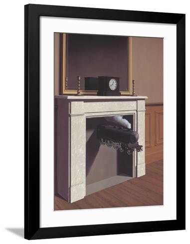 Time Transfixed-Rene Magritte-Framed Art Print
