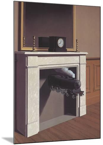 Time Transfixed-Rene Magritte-Mounted Art Print