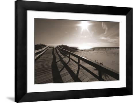 Bronze Beach I-Malcolm Sanders-Framed Art Print