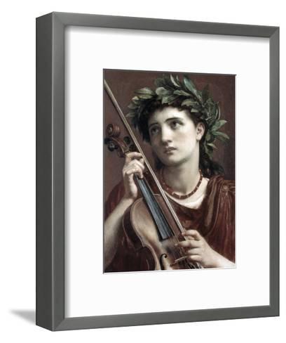 Music, Heavenly Maid-Sir Edward John Poynter-Framed Art Print