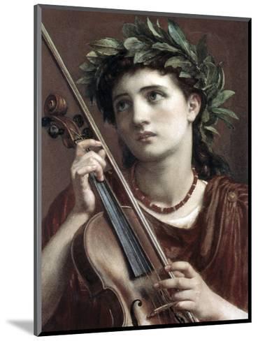 Music, Heavenly Maid-Sir Edward John Poynter-Mounted Premium Giclee Print
