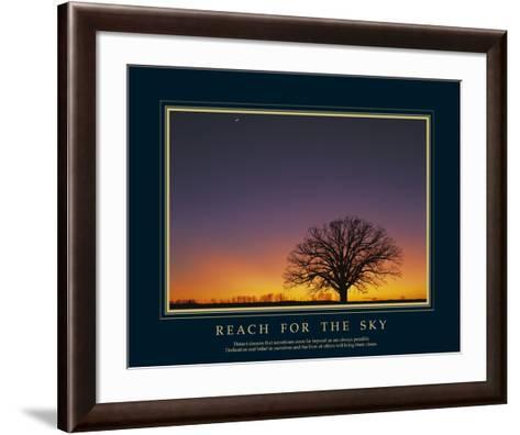 Reach For the Sky-Adam Brock-Framed Art Print