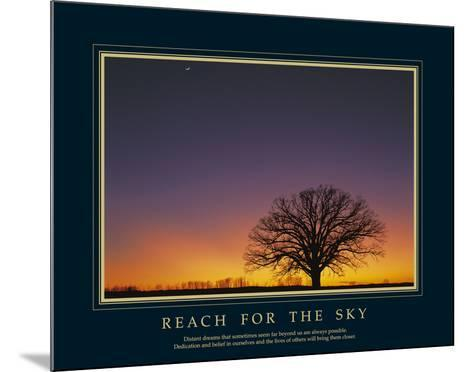 Reach For the Sky-Adam Brock-Mounted Art Print