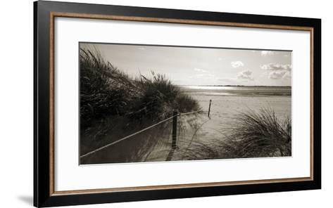 Rolling Dunes III-Ben James-Framed Art Print