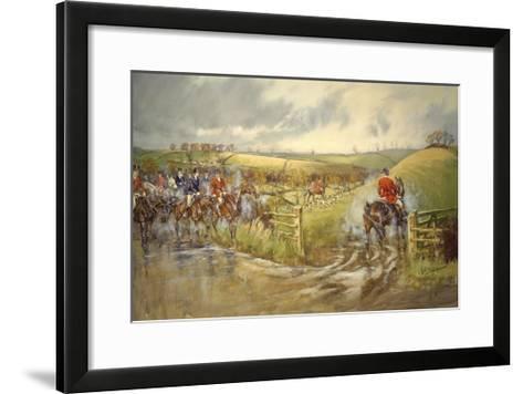 The Quorn Muxlow-John King-Framed Art Print