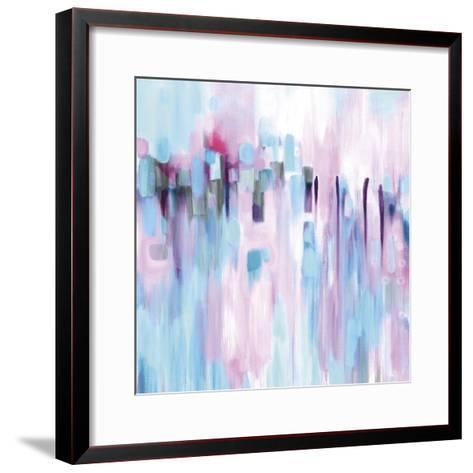 Under Turquoise Skies-Carolynne Coulson-Framed Art Print