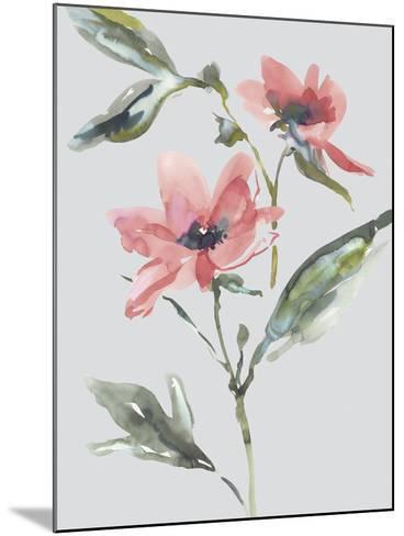 Garden Florals II-Sandra Jacobs-Mounted Giclee Print